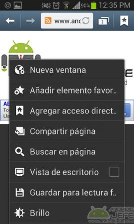 agregar acceso directo al inicio websites en el escritorio