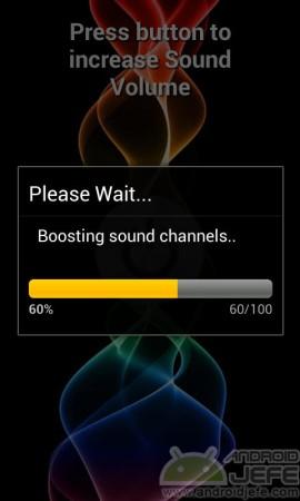 aumentar volumen celular processing