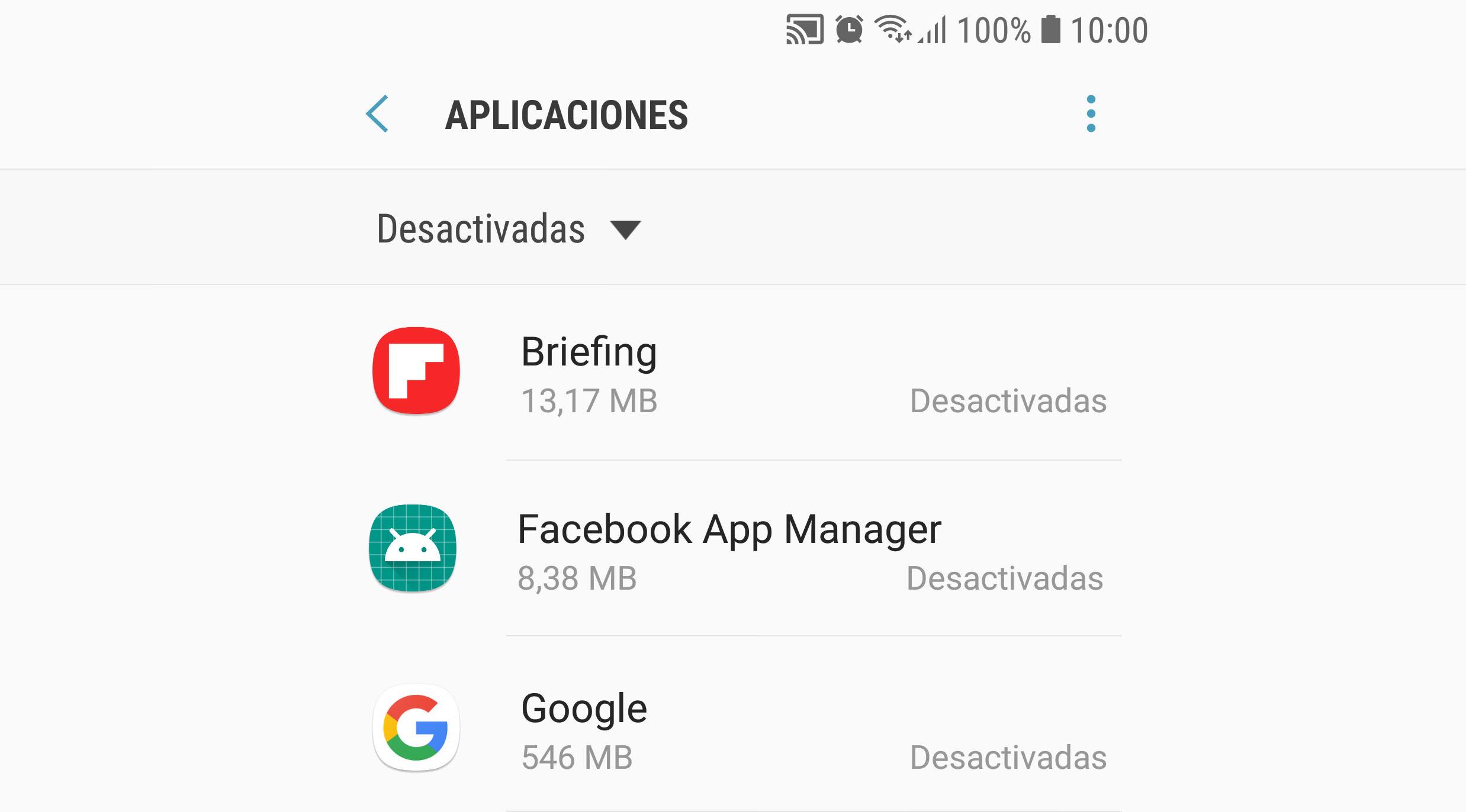 Qué es, cómo y qué aplicaciones DESACTIVAR en Android