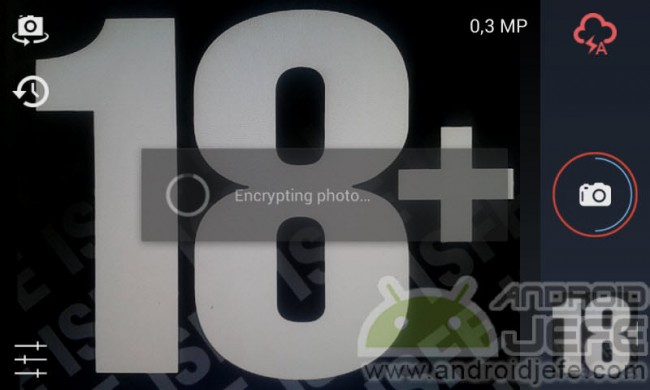 encriptando foto cámara segura