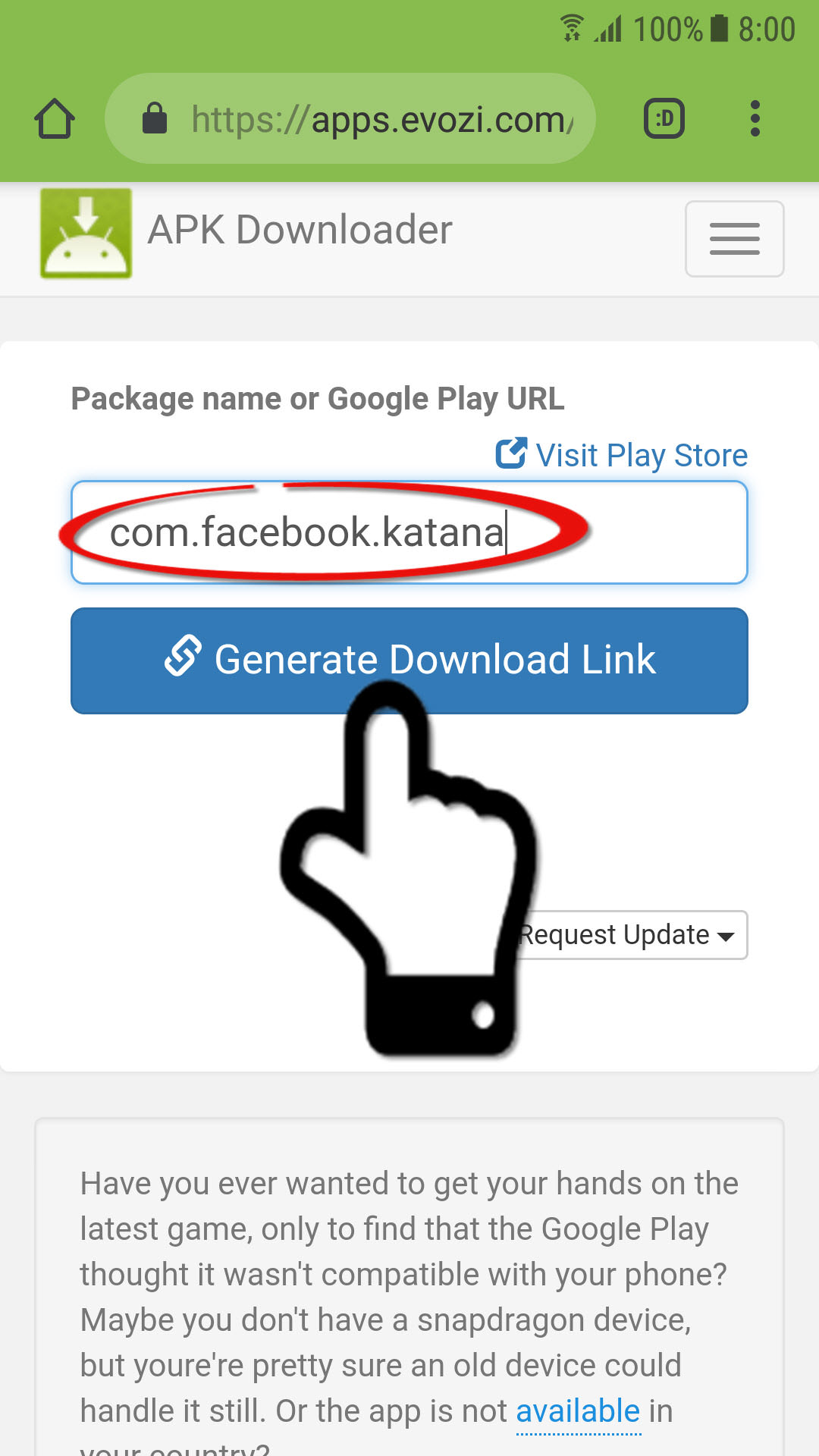 facebook play store