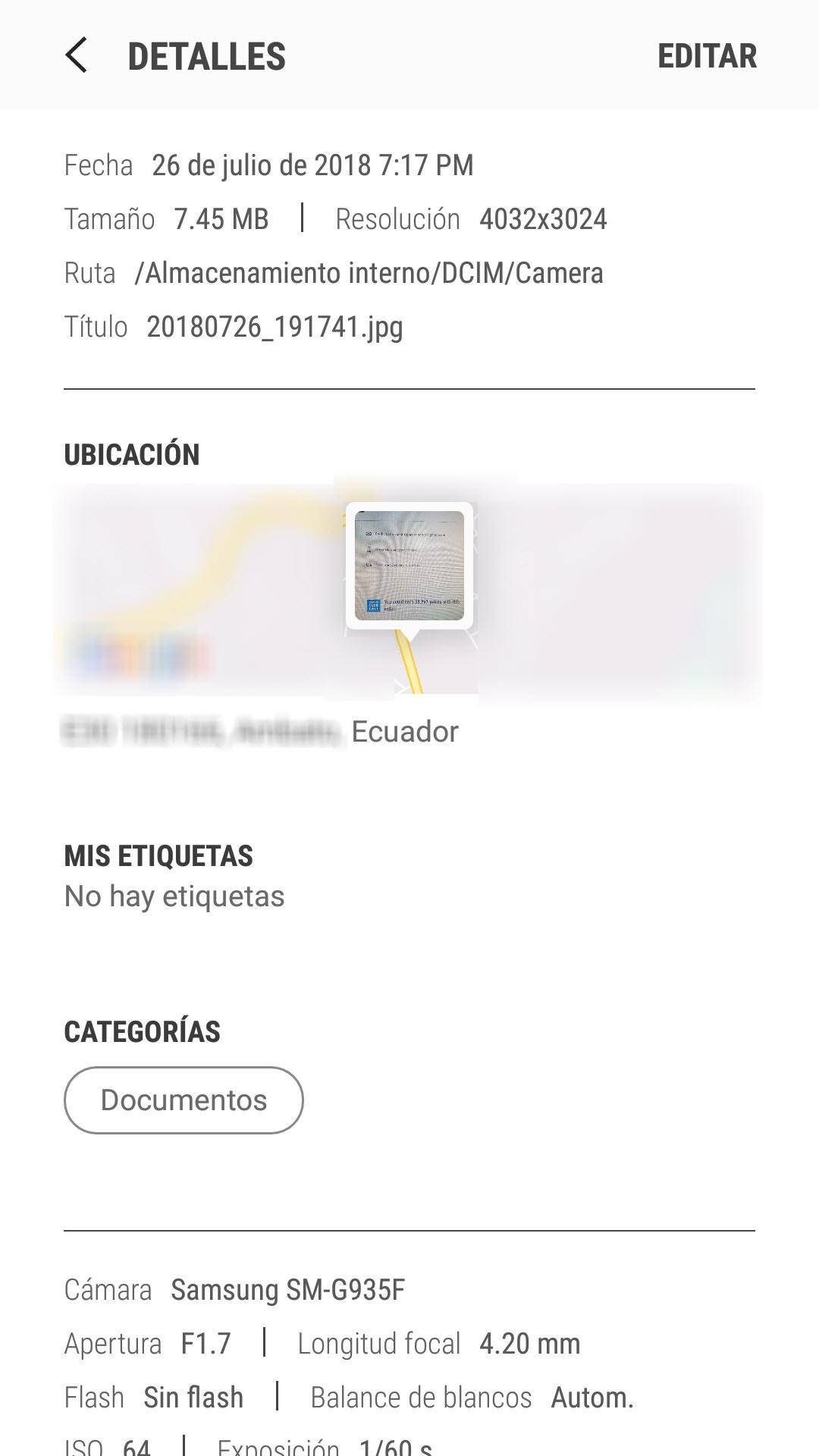 Cómo tomar fotos GEOREFERENCIADAS con tu celular Android (fotos con ubicación)