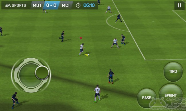 gameplay fifa15 para android