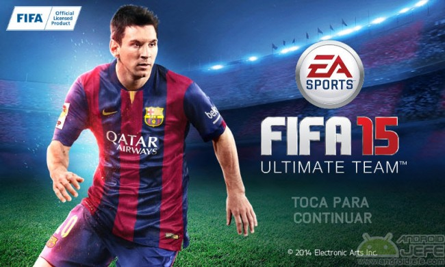 introduccion fifa15 para android