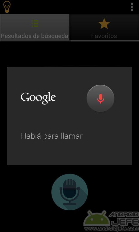 Marcacion por voz android sin internet