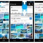 Nuevos gestos en actualización de Chrome para Android