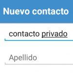 Cómo OCULTAR contactos en Android