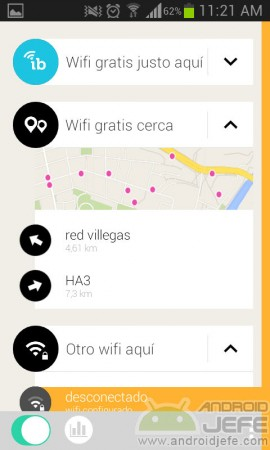 wifi gratis cerca con instabridge