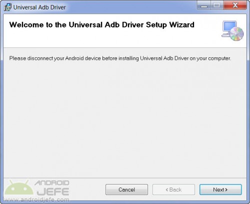 adb driver instalador universal windows descargar