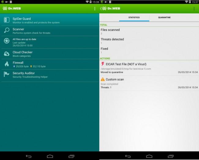 aplicaciones mas caras android dr web antivirus