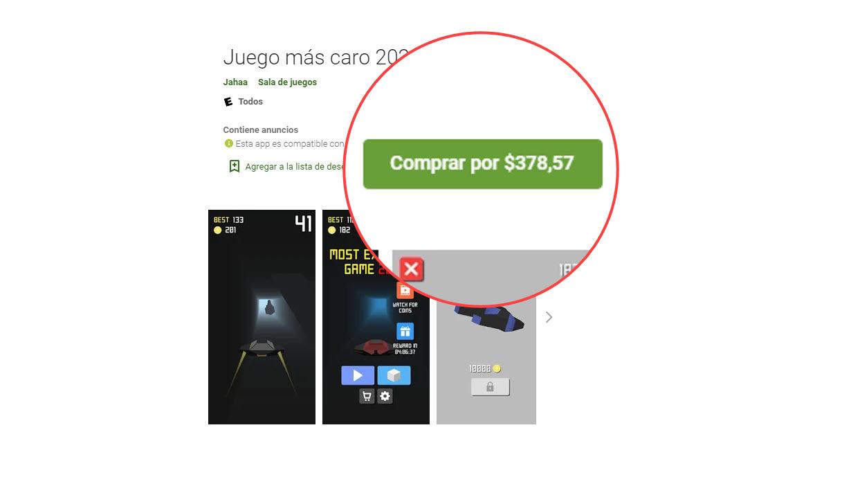 Las 7 aplicaciones y juegos más caros en Play Store