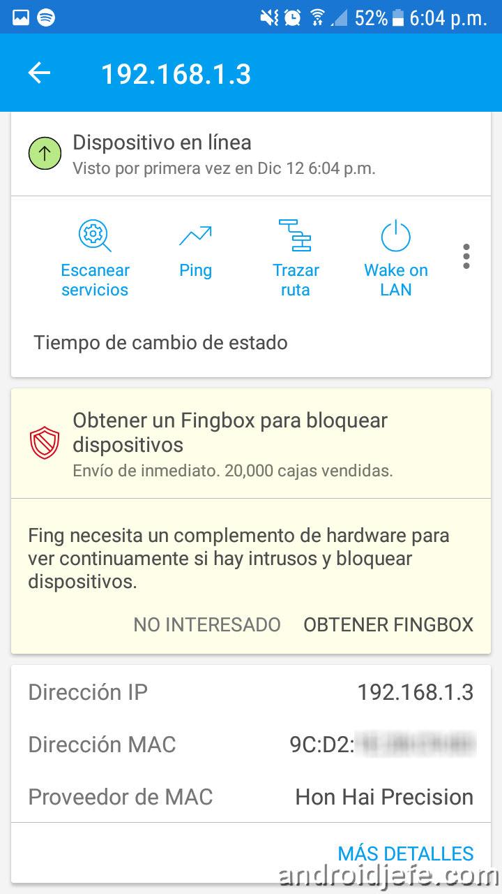 Cómo saber quién está conectado a mi WiFi • Android Jefe