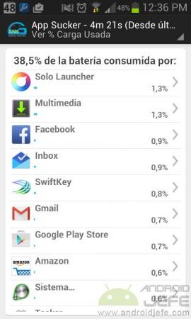 gsma monitor bateria gasto por aplicaciones