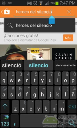 heroes del silencio buscar google play music