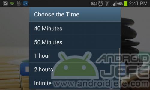 Música relajante SPA Aplicación Android