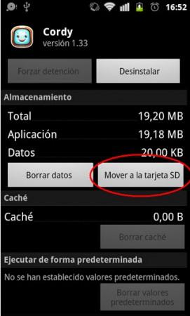 mover aplicaciones sd app2sd