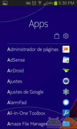 nokia z launcher revision apps