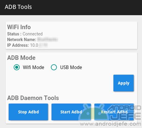 adb tools adb por wifi apk