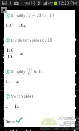 automath foto calculadora steps