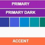 Generador de paletas de colores Material Design para desarrolladores