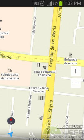 maps me pro vs google maps detalles