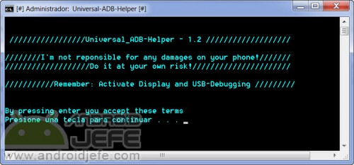 universal adb helper ejecutable