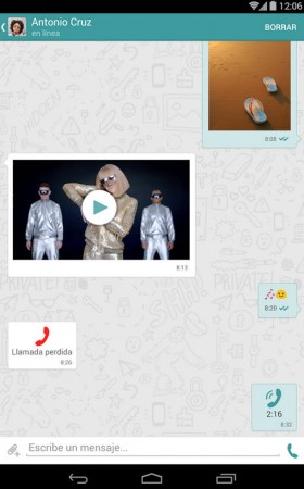 wiper retirar mensajes enviados celular otra persona