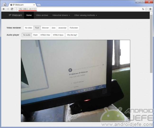 camara web android