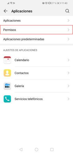 como ver permisos aplicaciones android paso 2