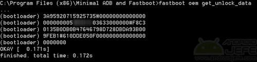 desbloquear bootloader moto g fastboot unlock data