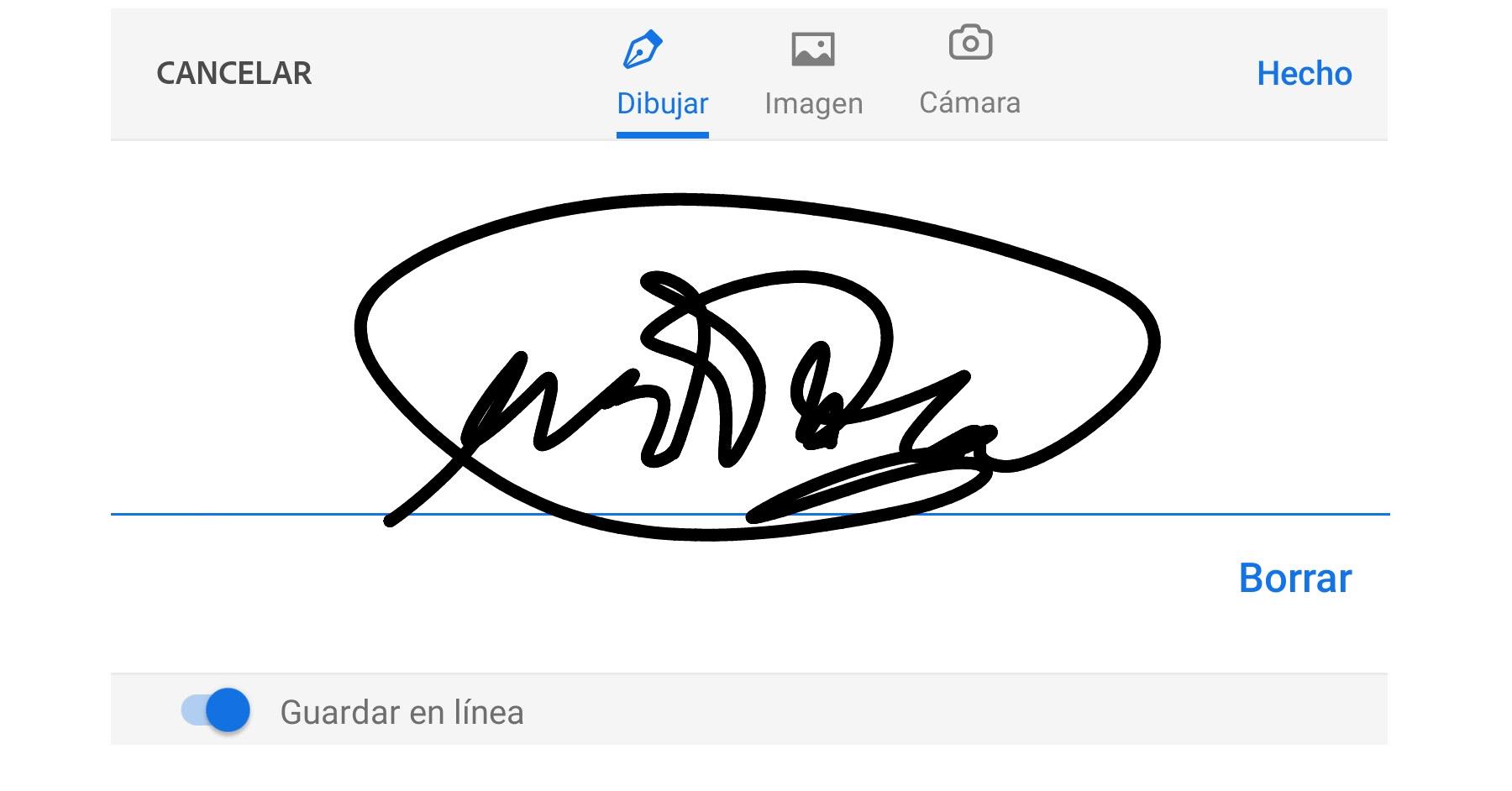 Cómo firmar documentos en el mismo celular para enviar electrónicamente (evitar imprimir, firmar, escanear)