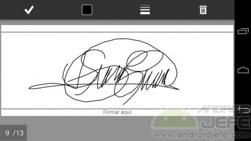 firmar pdf android adobe reader crear firma