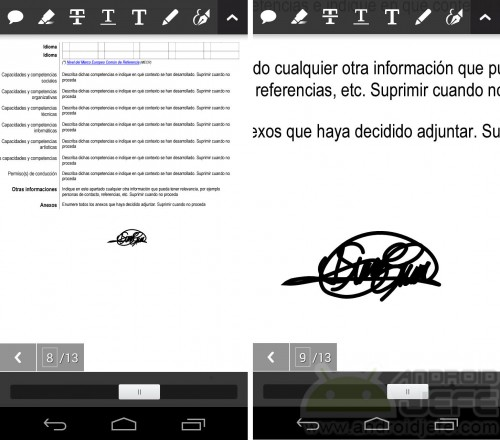 firmar pdf android adobe reader documento firmado