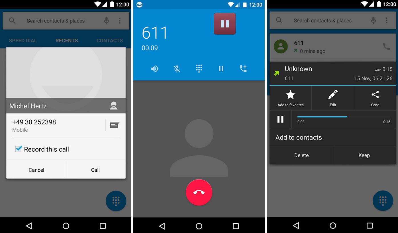 GRABADOR de llamadas: Las 3 mejores APPS
