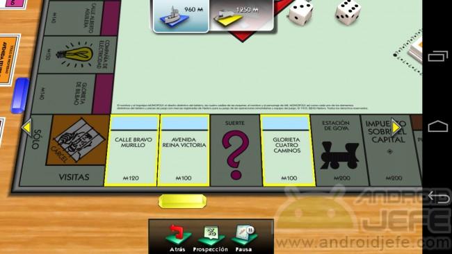 monopolio android propiedades