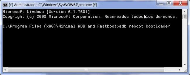 restaurar android de fabrica adb y fastboot