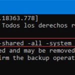 adb backup pc comando