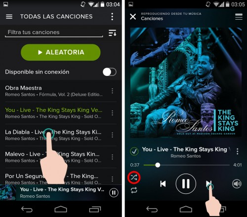 hack spotify android
