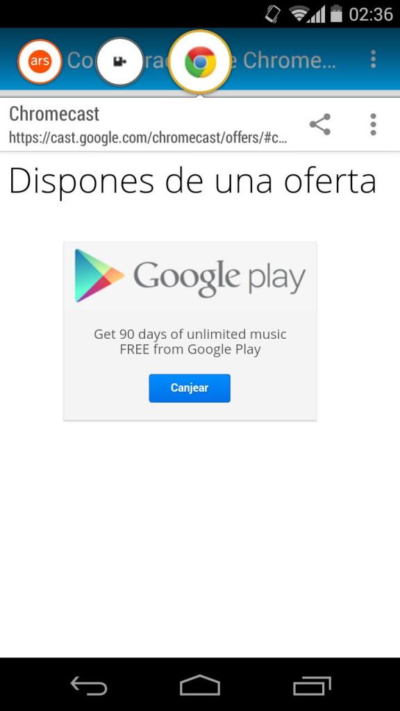 cosas que hace el chromecast ofertas google