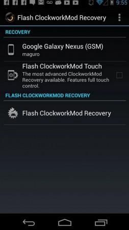instalar recovery personalizado cwm