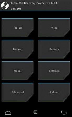 Recovery personalizado TWRP