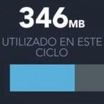 """My data manager puede medir y controlar el gasto de """"megas"""" en Android"""