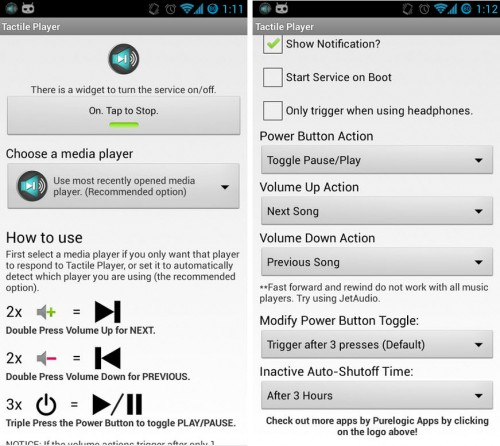 Tactile Player Music Control v3.0.1