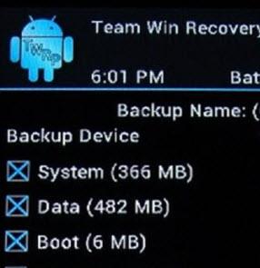 Cómo hacer un nandroid backup de mi Android