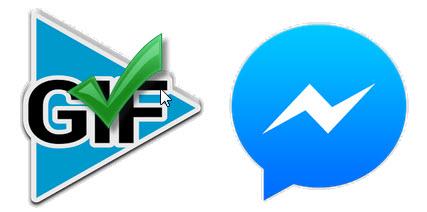poner gif facebook messenger