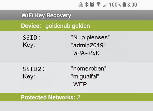Cómo ver las contraseñas WiFi en Android
