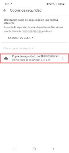 copia de seguridad de whatsapp en google drive