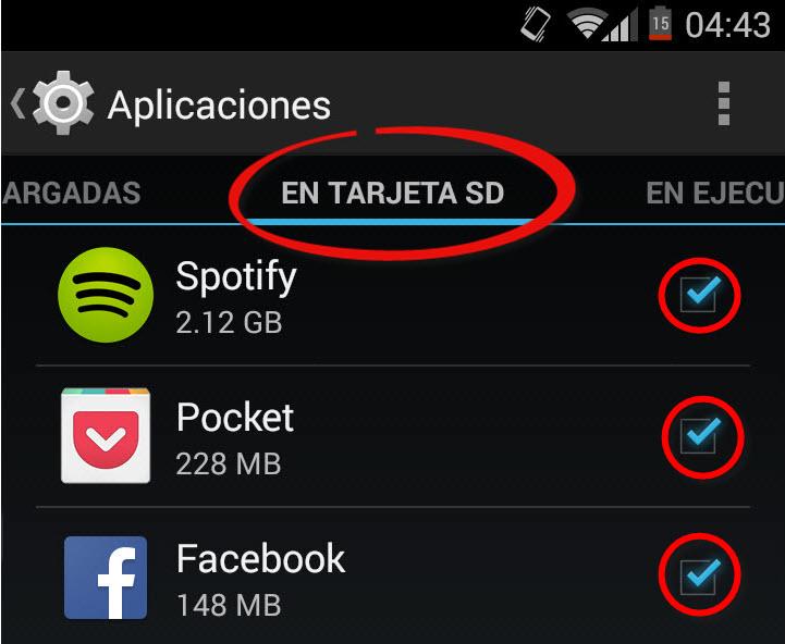 Cómo instalar aplicaciones DIRECTAMENTE en la tarjeta SD