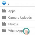 Cómo sincronizar tus fotos y carpetas de WhatsApp con Dropbox