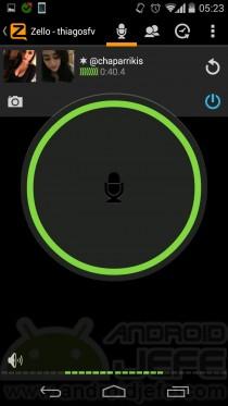zello walkie talkie hablando 2